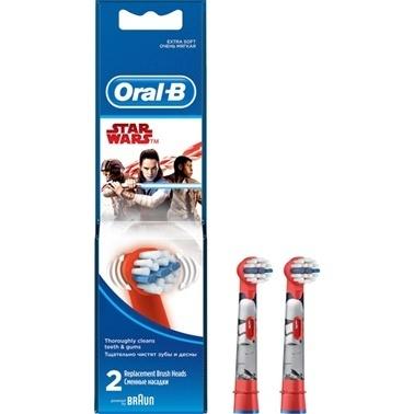 Oral-B Stages Çocuklar İçin Diş Fırçası Yedek Başlığı Star Wars 2 adet Renkli